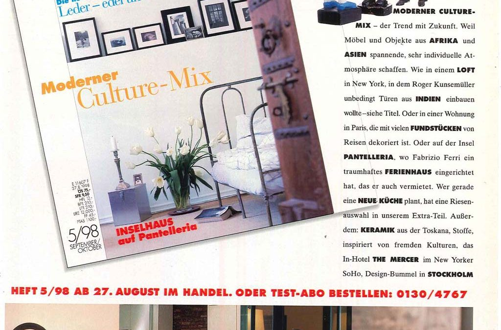Elle Decoration Germany – October 1998