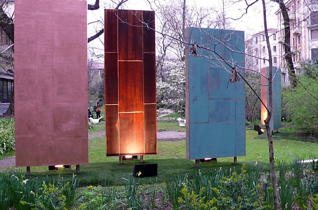 Garden Installation for Interni magazine