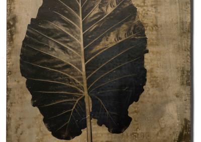 Leaf-6-mixed-media-on-iron